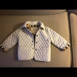 Burberry Baby/Toddler Quilted Jacket